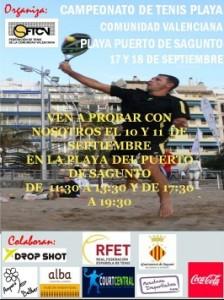 Campeonato Tenis Playa de la Comunidad Valenciana