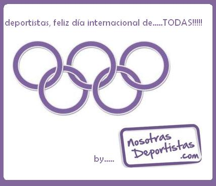 deportistas, feliz día internacional de… TODAS!!!