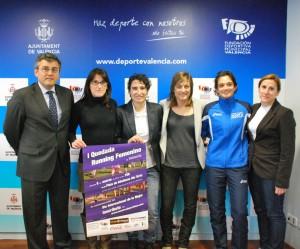 Presentación de la I Quedada de Running Femenino para celebrar el Dia Internacional de la Mujer
