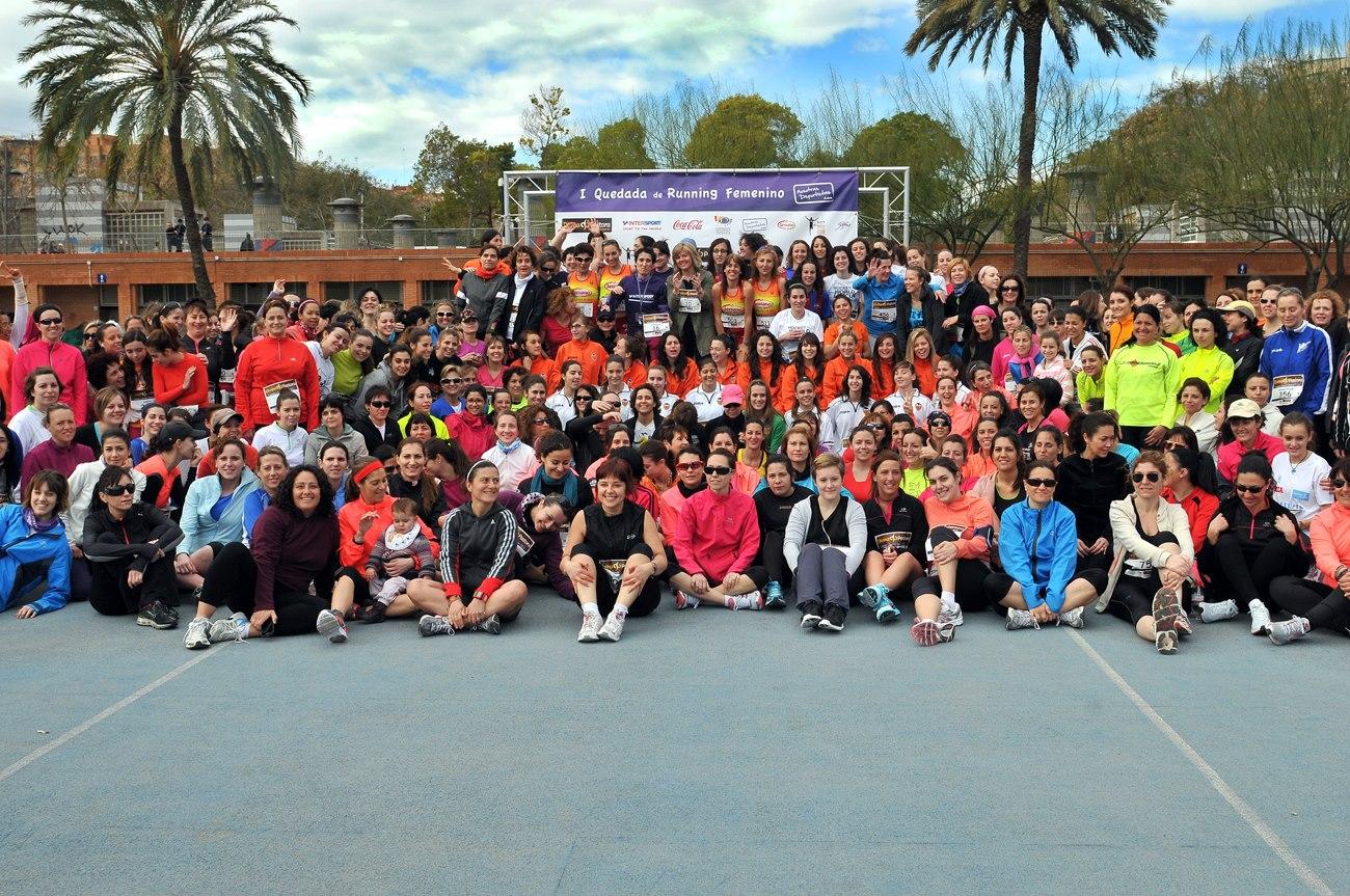 Todas las participantes I quedada running fem