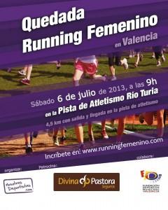 Quedada Running Femenino 6 Julio