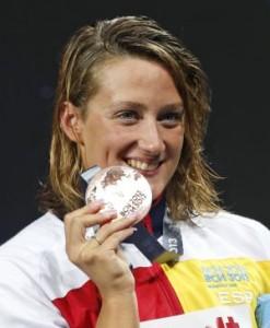 Mireia Belmonte medalla de bronce en 200 estilos - nosotras deportistas