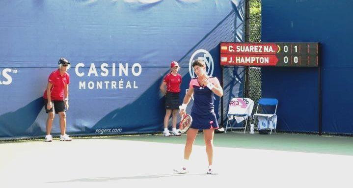 carla suarez - Torneo Toronto -Tenis Nosotras deportistas
