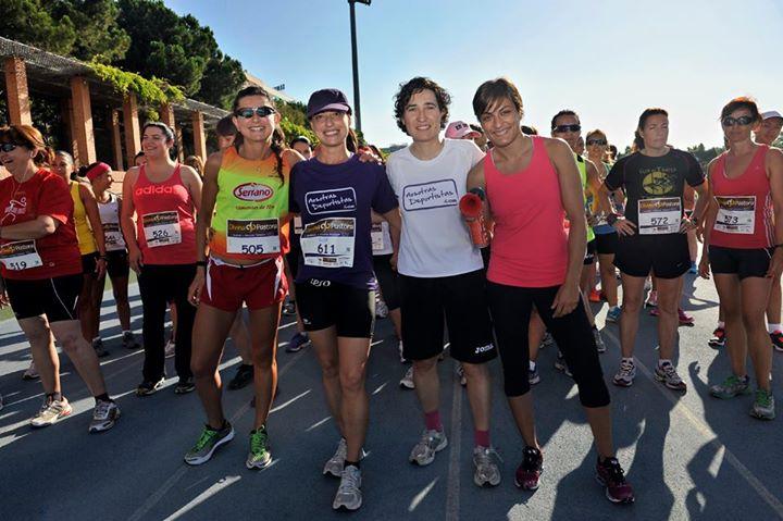 Cerca de 250 mujeres participaron hoy en la II Quedada de Running Femenino de Valencia