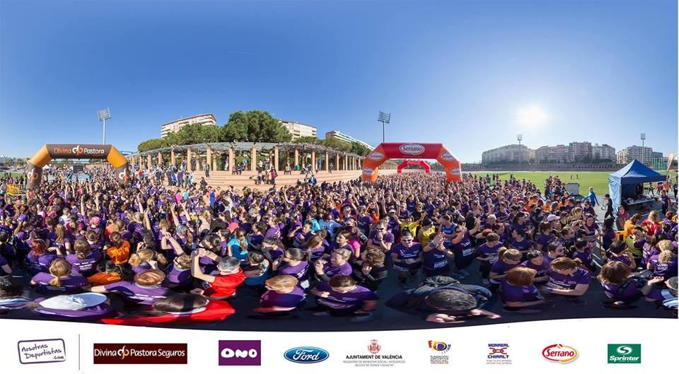 Mas de 1500 mujeres en el Día de la Mujer…¡deportista!