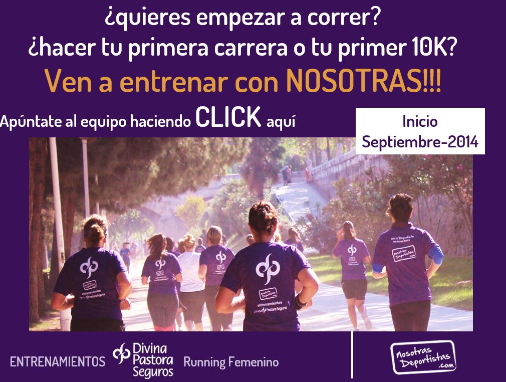 ¿quieres empezar a correr? ¿hacer tu primera carrera de 10K? ¿entrenar y mejorar?