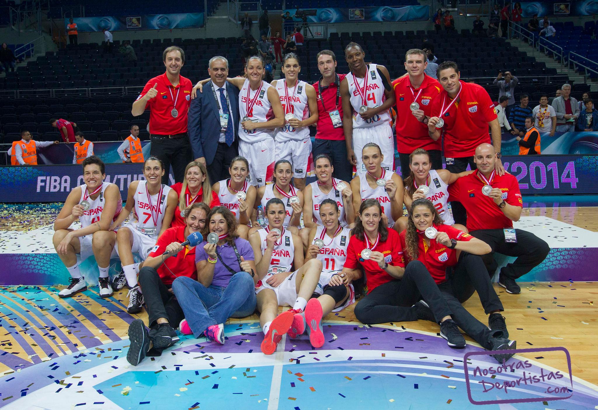 ¡Plata para la Selección Femenina de Baloncesto en el Mundial de Turquía!