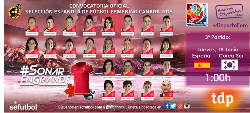 España Corea Sur Futbol Femenino