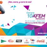 Participa en la Carrera 10KFem, la carrera de 10km donde tu eres la protagonista