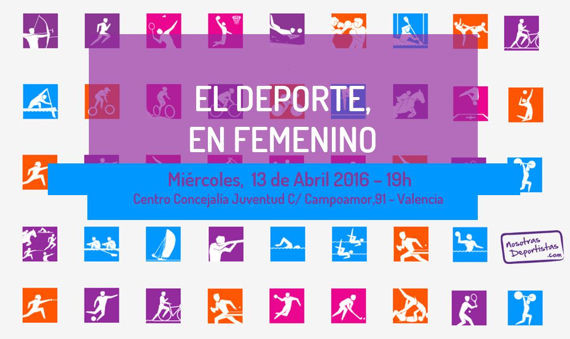 Inscribete a la Jornada Gratuita: El Deporte, en Femenino