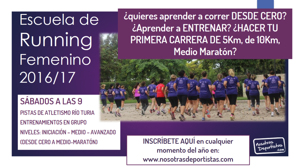 Cartel Running Temporada 2016-17