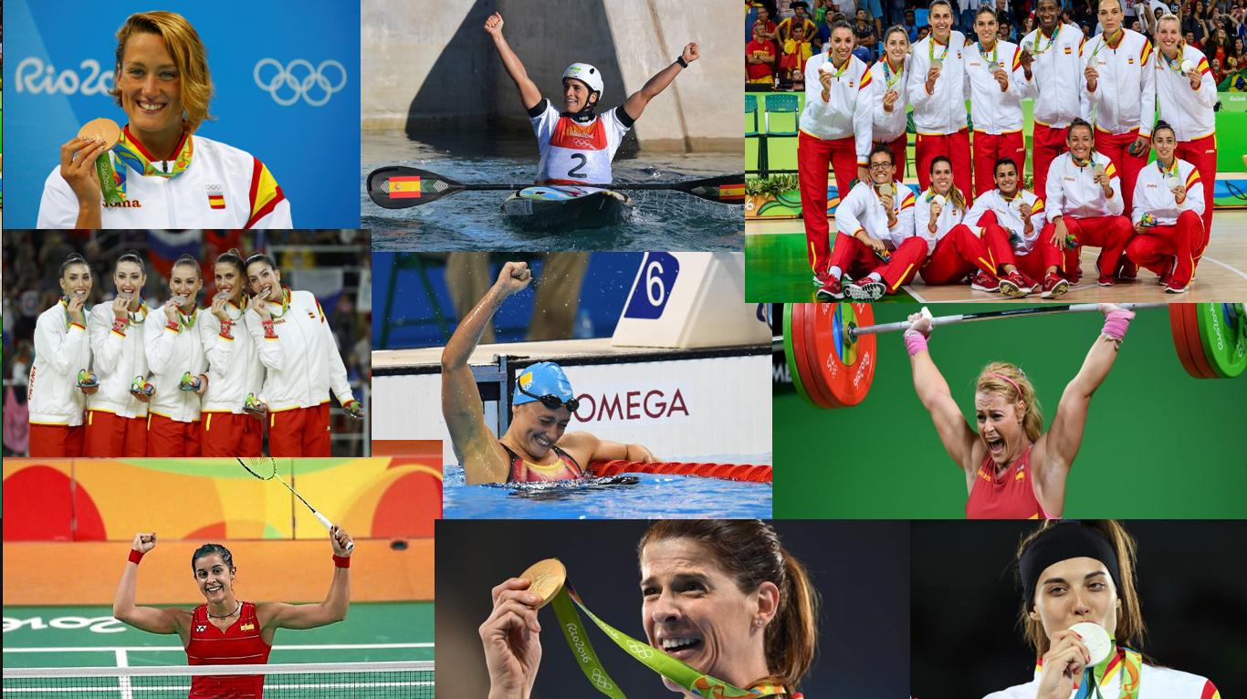 Medallistas Olimpicas. El papel de las mujeres en los Juegos Olímpicos de Rio 2016