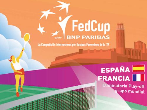 Copa Federación de Tenis: España Vs Francia