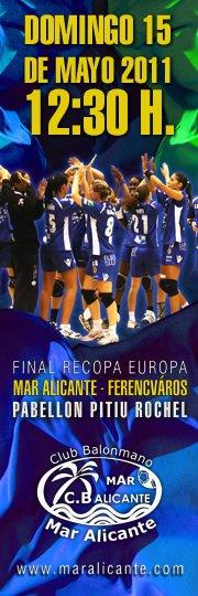 Remontar 5 goles para ver al Mar Alicante campeón