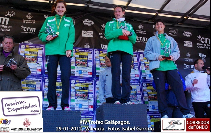 Las ganadoras del XIV Trofeo Galápagos – Circuito CRM