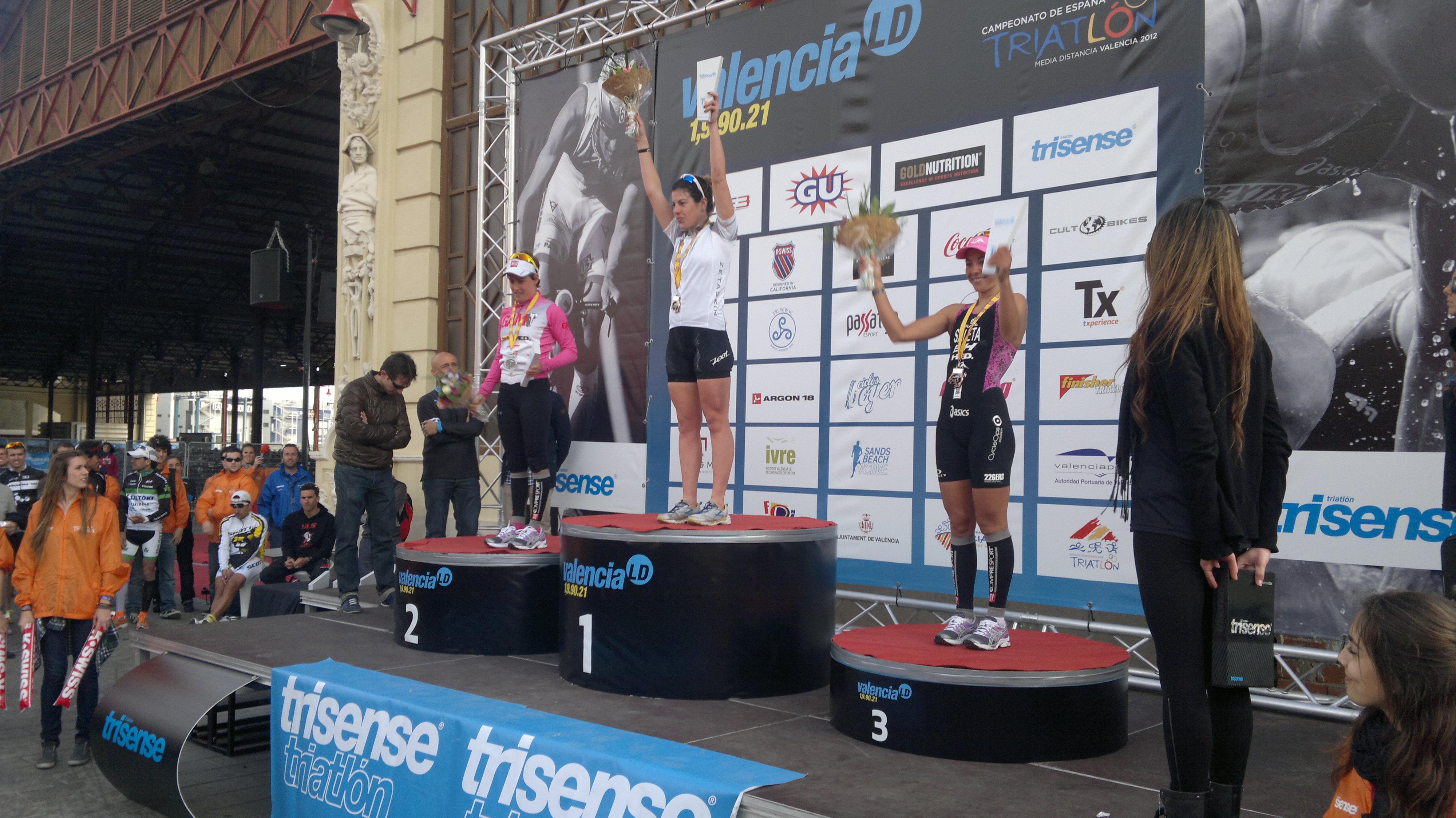 Marta Jiménez, Campeona de España 2012 de Triatlón en Media Distancia