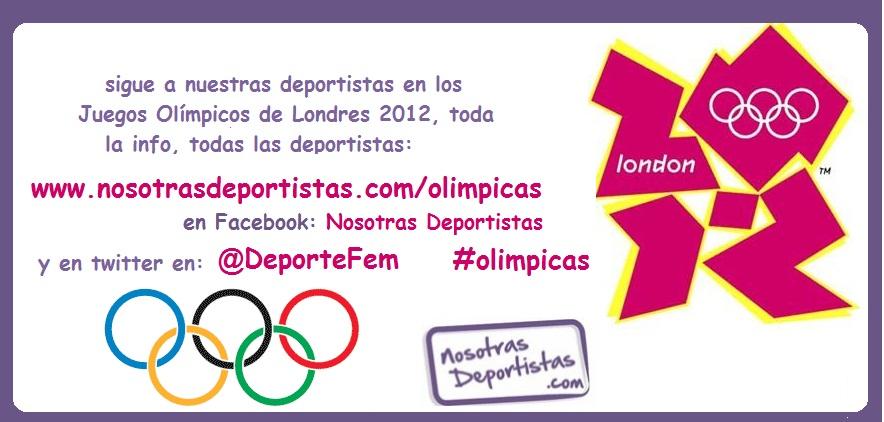 Sigue a nuestras deportistas en los Juegos Olímpicos