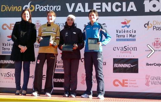 Atletismo: Isabel Checa vence en la 10K Divina Pastora de Valencia