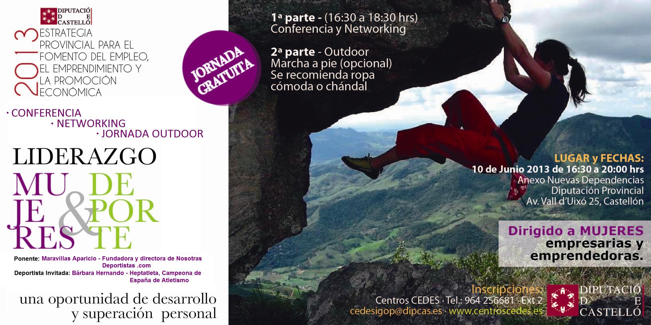 Conferencia: Mujeres, liderazgo y deporte en Castellón