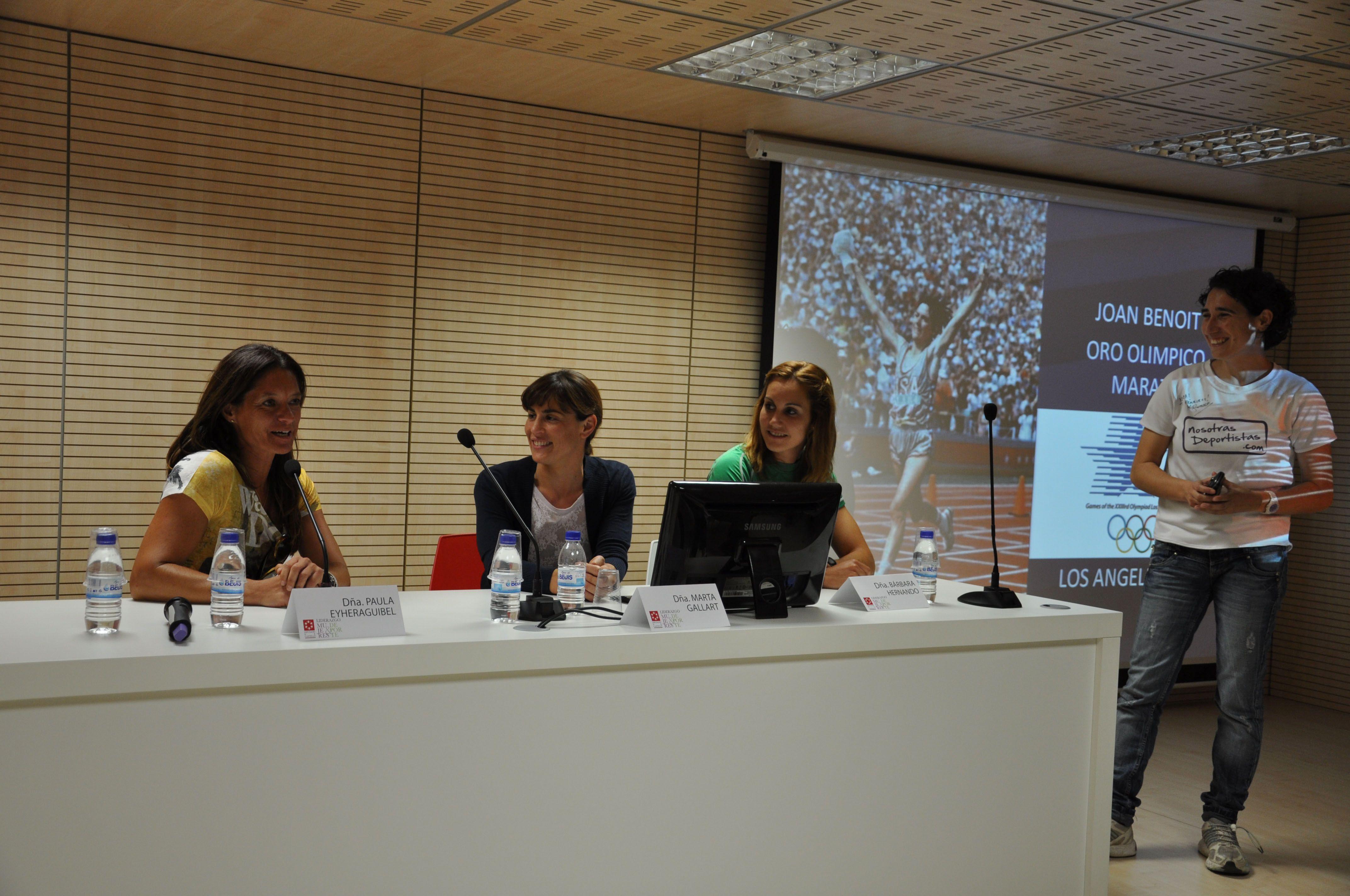 Gran éxito de participación en la Jornada: «Mujeres, Liderazgo y Deporte»
