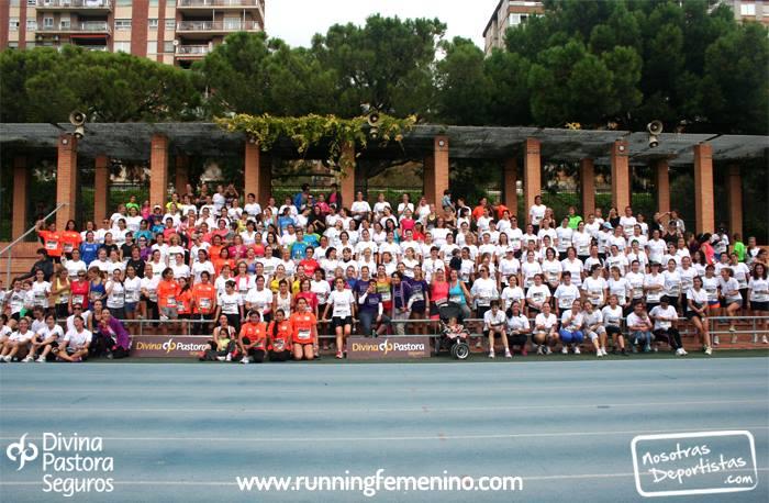 Mas de 300 mujeres en la III Quedada Running Femenino