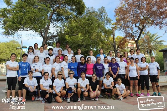 Un equipo de 100 mujeres correrá la 10K de Valencia
