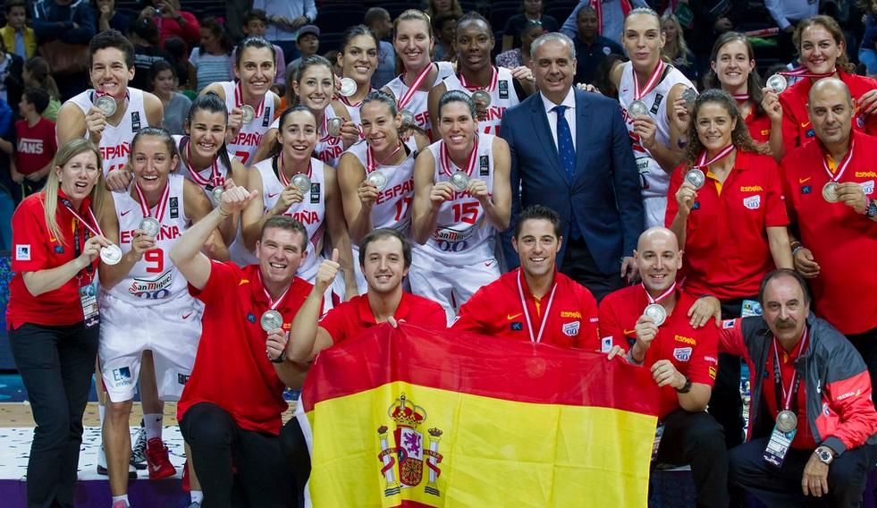 Plata en el Mundial de Basket femenino turquia 2014