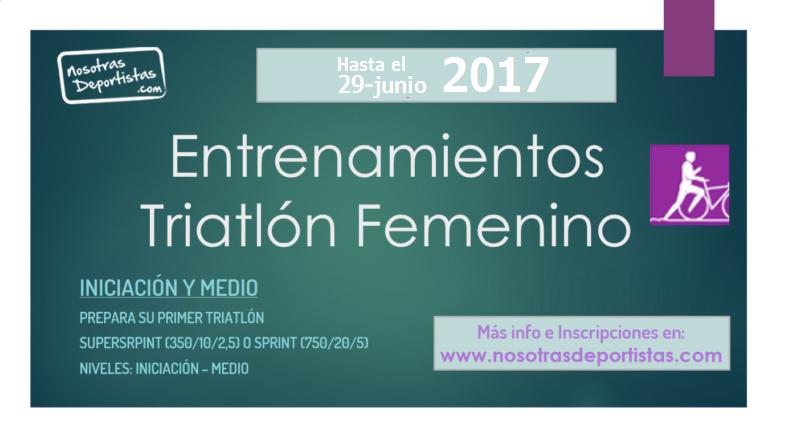 Entrenamientos Triatlón 2017