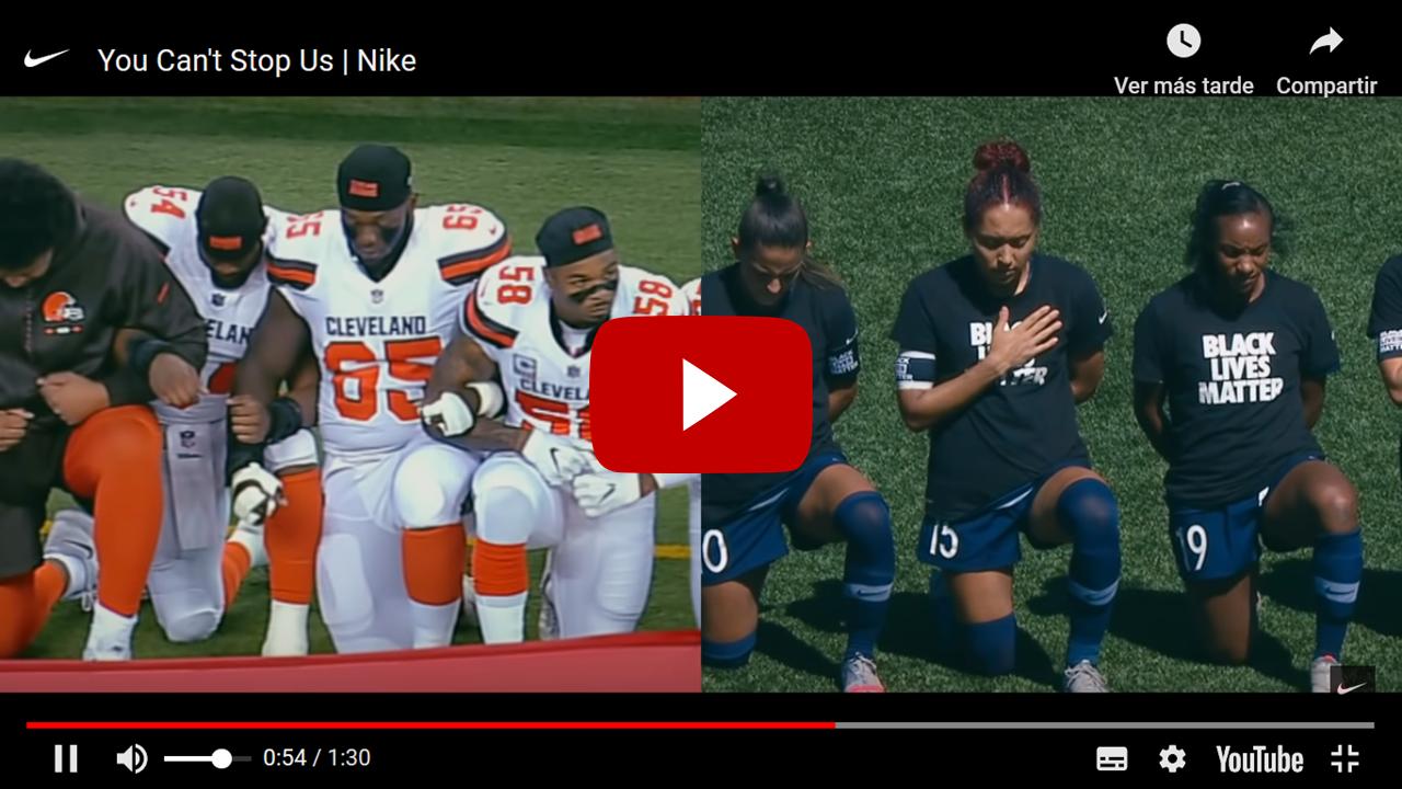 """""""You can´t stop us"""" (""""No puedes detenernos""""). El increíble y motivador anuncio de Nike que te encantará"""