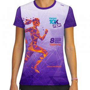 Camiseta Oficial Carrera 10KFem 2020